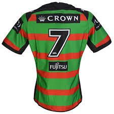 Adam Reynolds 2018 Sub No.7 South Sydney Rabbitohs Players Home Jersey |  SavvySupporter