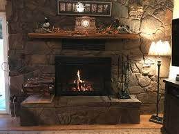 another 70 s rock fireplace