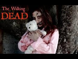 the walking dead zombie little
