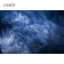 خلفيات صور Laeacco خيال ضباب متدرج لون أزرق متين صورة صورة ستارة