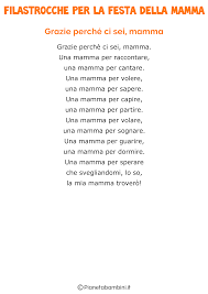 21 Filastrocche per la Festa della Mamma per Bambini ...