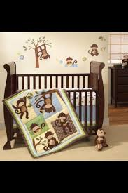 baby crib bedding sets monkey baby rooms