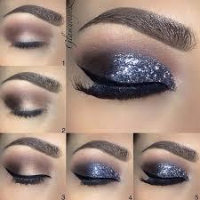 glitter smokey eye makeup for every