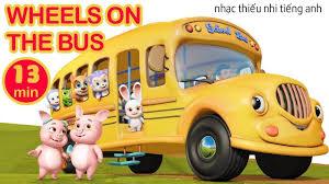The Wheels on the Bus ❤ Nhạc thiếu nhi Tiếng Anh vui nhộn Cho Bé ❤ Anim...