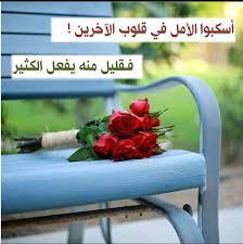 كلمات من ورود اجمل الكلام بخلفية زهور مساء الورد