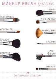 beauty brush guide makeup