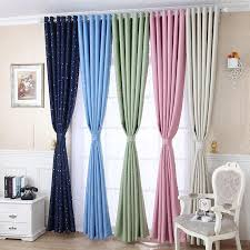 2020 Shiny Stars Curtains For Bedroom Fashion Durable Drapes Blackout Curtains For Kids Child Bedroom Living Room Blackout Curtinas From Kuaikey 12 69 Dhgate Com