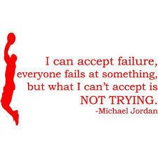 Michael Jordan Quote Wall Decal Sticker Vinyl Basketball Decor 20 X13 Ds16 Walmart Com Walmart Com