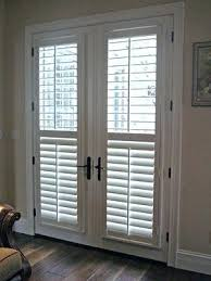 blinds for french doors ideas