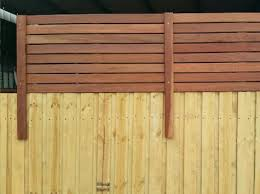 Paling Pool Fence Extensions From Bunnings Melbourne Lattice Factory Fence Design Privacy Fence Designs Lattice Fence