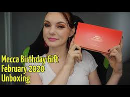 mecca birthday gift unboxing level 3