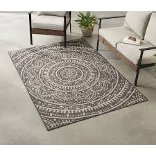 leia medallion indoor outdoor area rug