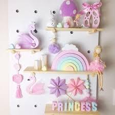 Rainbow Personalised Molded Kids Names Room Decor Kids How Divine