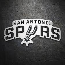 Sticker Nba San Antonio Spurs Shield Muraldecal Com