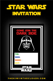 Free Star Wars Party Printables A No Stress Way To A Galactic