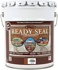 Ready Seal 520 Exterior Stain And Sealer For Wood 5 Gallon Redwood Outdoor And Patio Products Amazon Com
