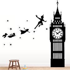 Peter Pan Big Ben Wall Decal The Decal Guru