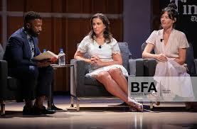 Wesley Morris, Jodi Kantor, Megan Twohey at TimesTalks: Jodi Kantor & Megan  Twohey / id : 3900921 by