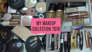 my makeup collection 2019 you