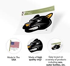 Amazon Com University Of Wisconsin Milwaukee Uwm Panthers Ncaa Vinyl Decal Laptop Water Bottle Car Scrapbook Sticker 006 Arts Crafts Sewing