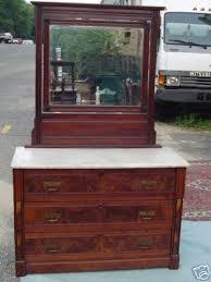 antique victorian marble top eastlake