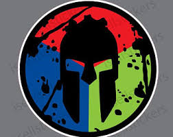 Spartan Race Sticker Etsy