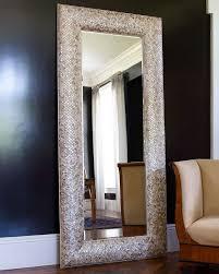 horchow mother of pearl floor mirror