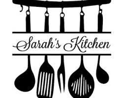 Utensils Wall Decal Etsy