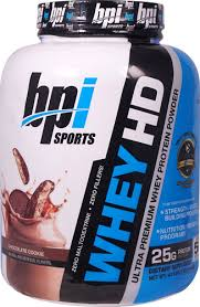 bpi sports whey hd chocolate cookie