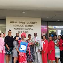 Shirley Johnson honored by Miami-Dade school system | Education ...