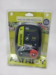 Patriot Pe5 Electric Fence Energizer 0 20 Joule