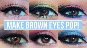 5 makeup looks that make brown eyes pop