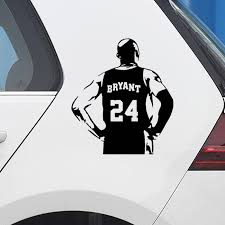Basketball Kobe Bryant Car Sticker Creative Decal For Car Decoration Design Stickers Vinyls Decals Cars Accessories For Car Car Stickers Aliexpress