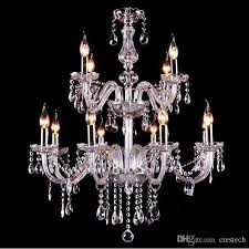 clear crystal chandelier lights glass