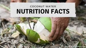 coconut water nutrition facts taste