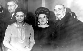 Bahram Mansurov - sağdan - Bəhram Mansurov, Sara Qədimova ...