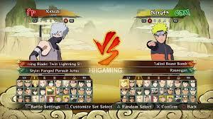 Naruto Shippuden Ultimate Ninja Storm Revolution All Characters ...