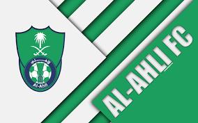 تحميل خلفيات الأهلي السعودي نادي 4k الأخضر الأبيض التجريد شعار