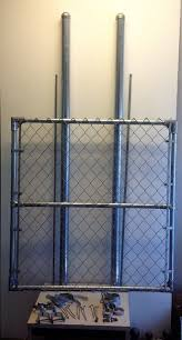 Add A Gate Kit For Existing 4 Chain Link Fence The Fence Department Inc Drahtzaun Zaun