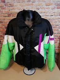 vintage obermeyer blast off ski jacket