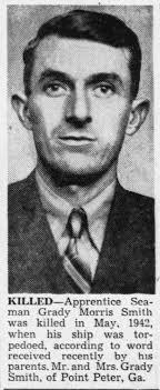 Grady Morris Smith (1915-1942) - Find A Grave Memorial