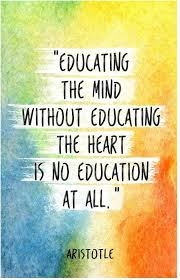 aristotle quote on education poster inch x inch paper