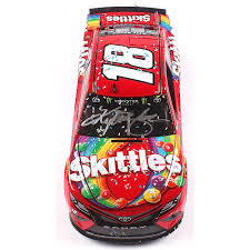 Kyle Busch Signed Nascar 18 Skittles 2019 Camry Ism Raceway Win 1 24 Premium Action Diecast Car Pa Coa Pristine Auction