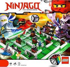 LEGO Ninjago Games Ninjago Board Game 3856 - ToyWiz