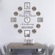 Time Spent With Family And Friends Is Worth Every Second Wall Quote St American Wall Designs