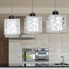 rectangular pendant light