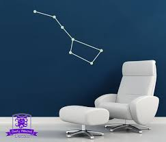 Glow In The Dark Big Dipper Constellation Wall Decal Etsy Constellation Wall Decal Glow In The Dark Wall Decals