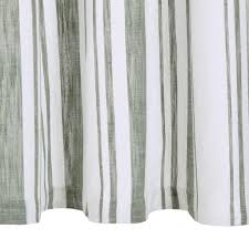 Curtains And Metal Rings 2pz Cotton 140x245cm Green Striped Wall Stickers Custom Wall Decals Custom Wall Sticker From Globaltradingco 26 31 Dhgate Com