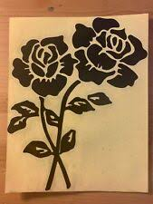 Black Rose Car Decal Ebay