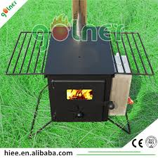 portable camping tent bbq cooking wood